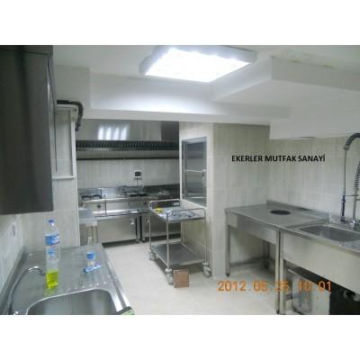 Alakart mutfak,genel görünüm
